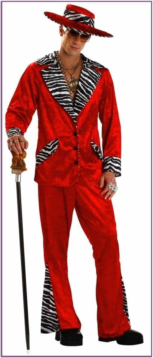 Красный костюм сутенера