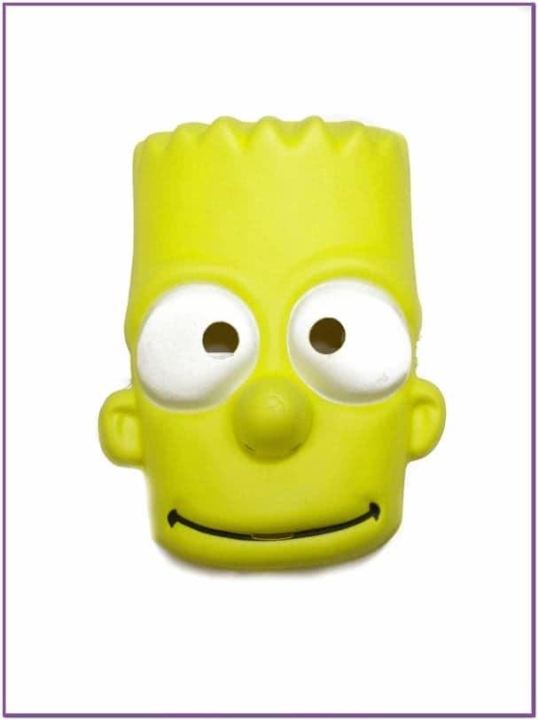 Маска Барт Симпсон