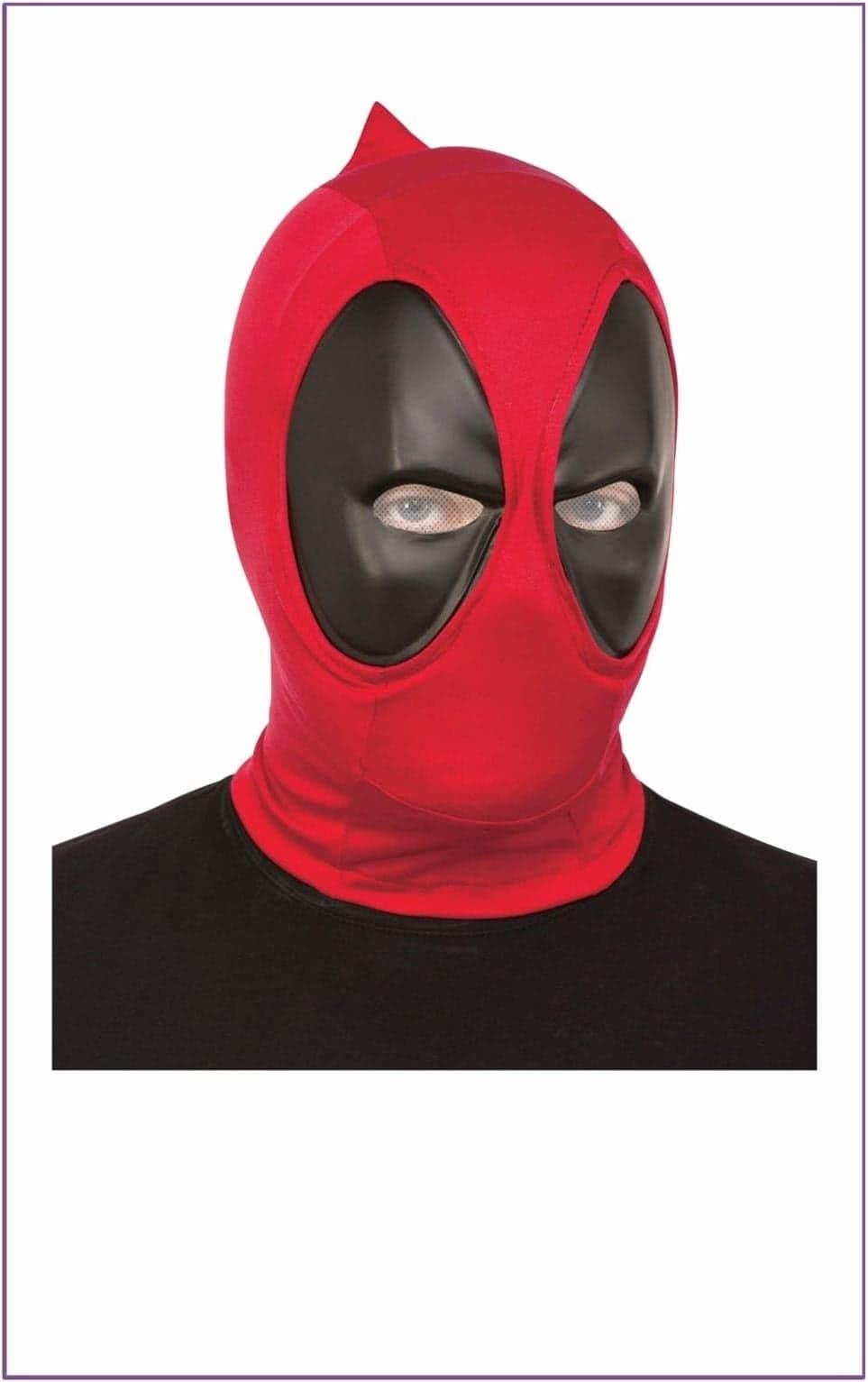 Косплееры ку-ку. Делитесь выкройками для маски Дэдпула!) Deadpool 19