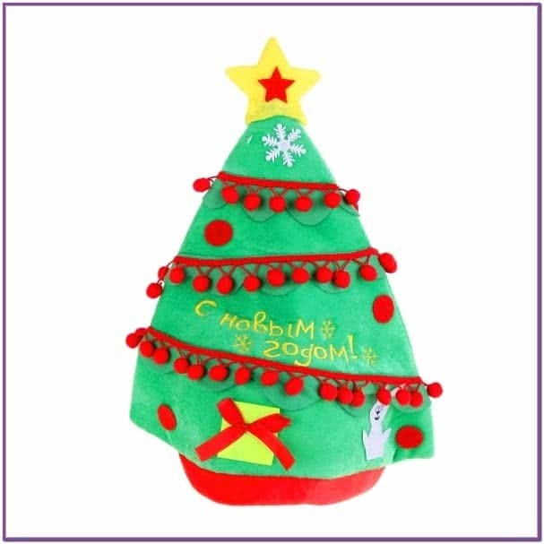 Шляпа Новогодняя елочка