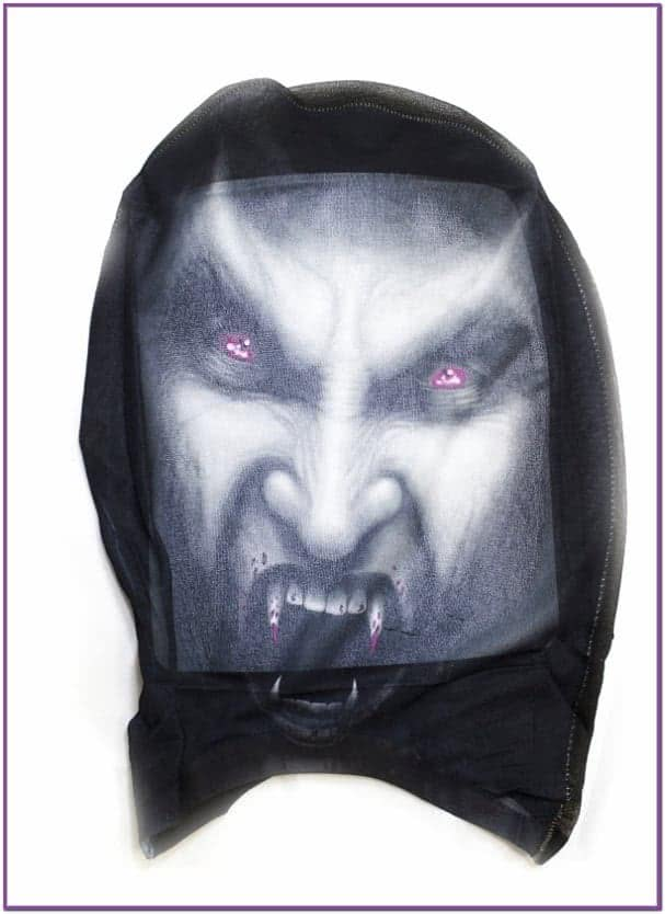 Вампирская маска-чулок
