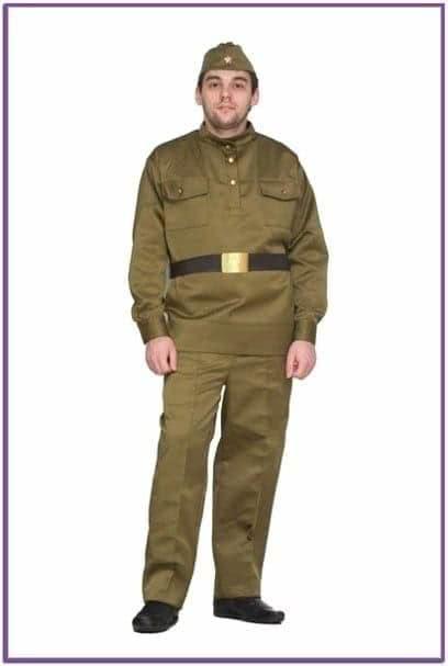 Военный костюм для мужчин lux