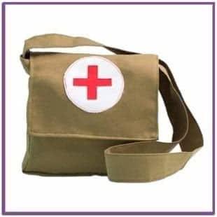 Взрослая военная сумка