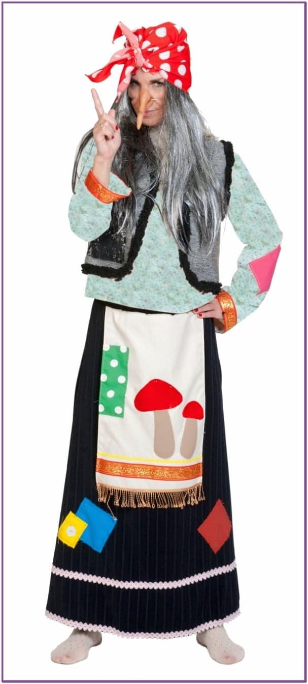 Взрослый костюм Бабы Яги