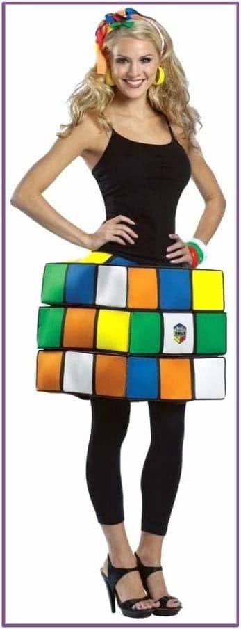 Юбка Кубик Рубика женская