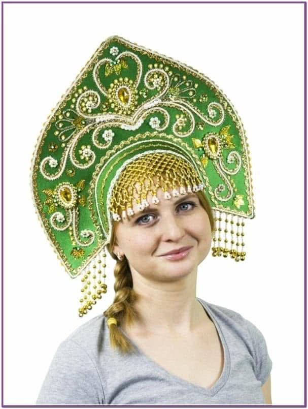 Зеленый кокошник Купола