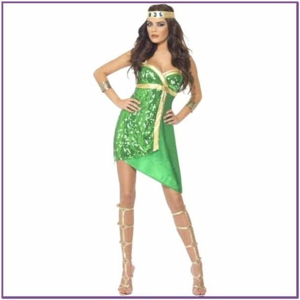 Зеленый костюм медузы