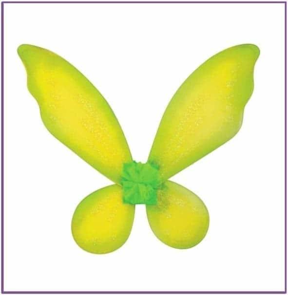 Желтые детские крылышки