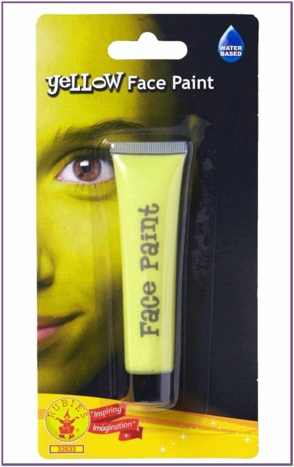 Желтый грим для лица
