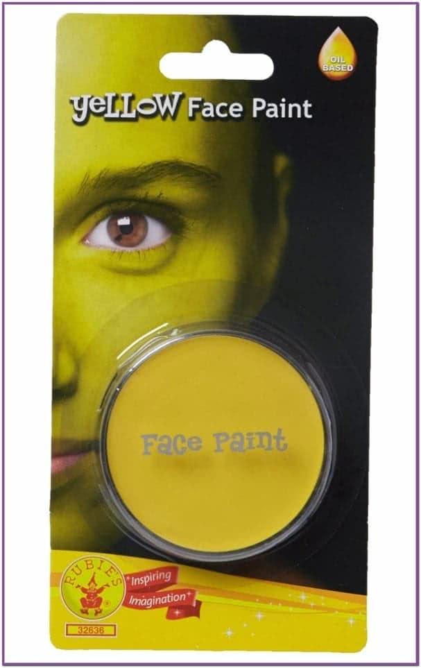 Желтый грим-краска для лица