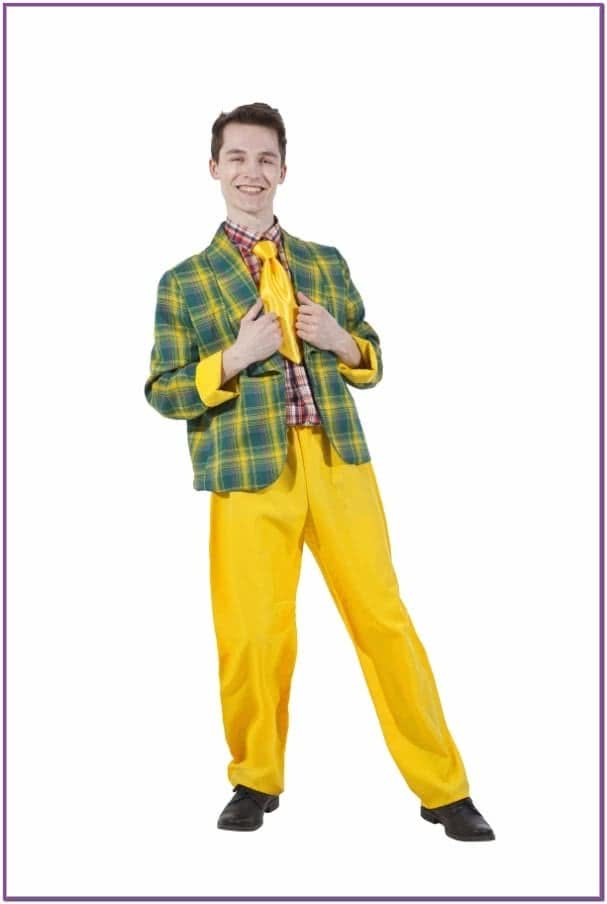 Желтый костюм стиляги