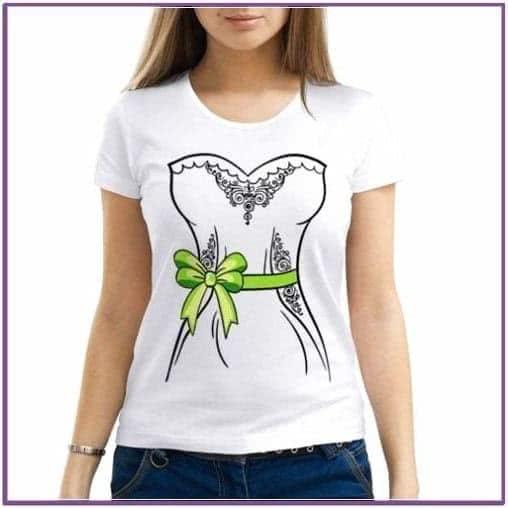 Женская футболка парная Невеста