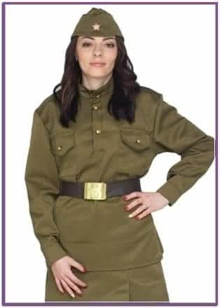 Женская военная форма lux