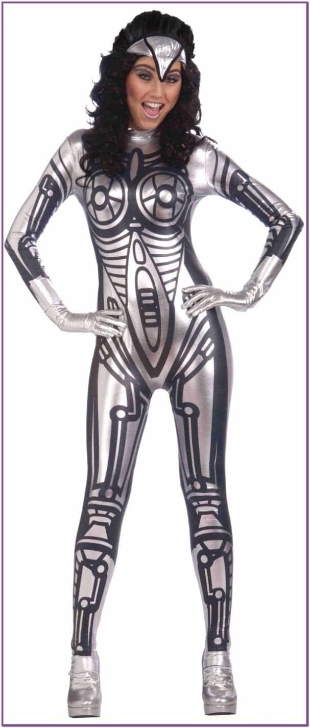Женский костюм робота