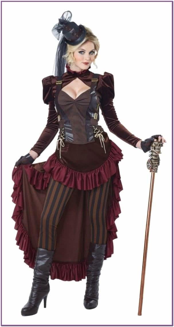 Женский костюм викторианского стимпанка