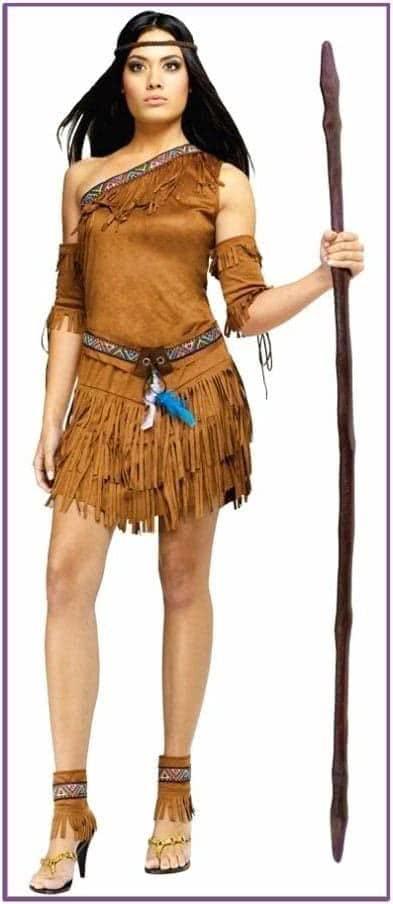 Женский костюм вождя племени