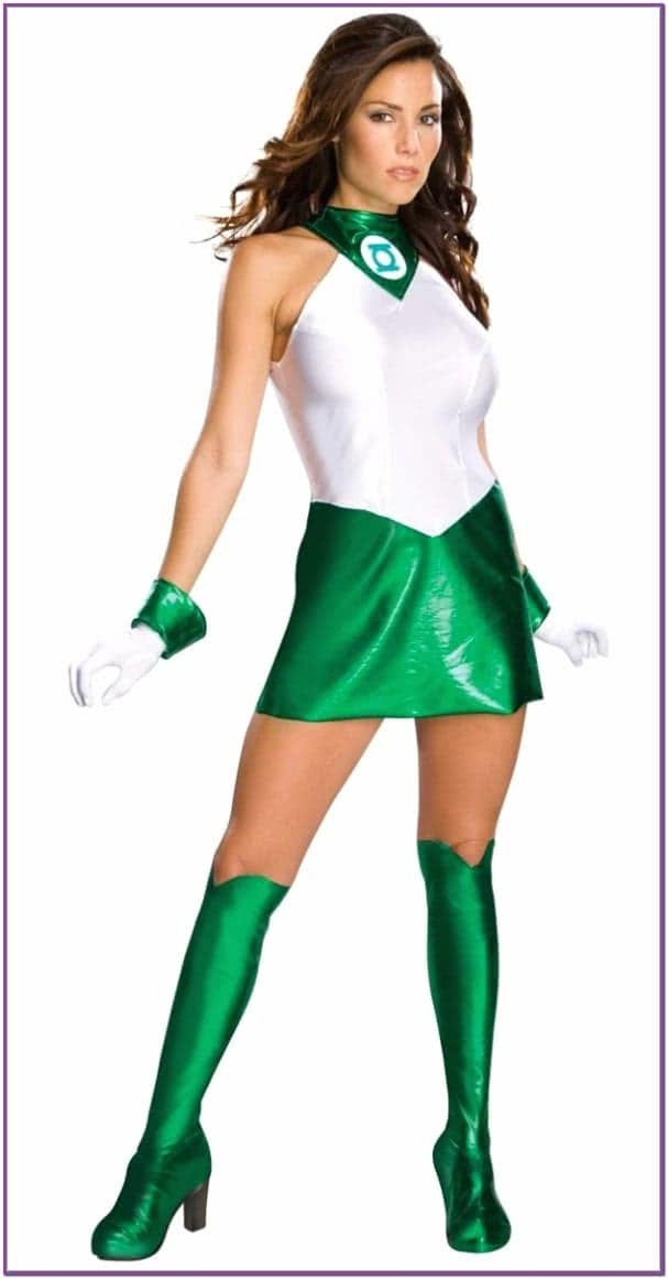 Женский костюм Зеленый Фонарь
