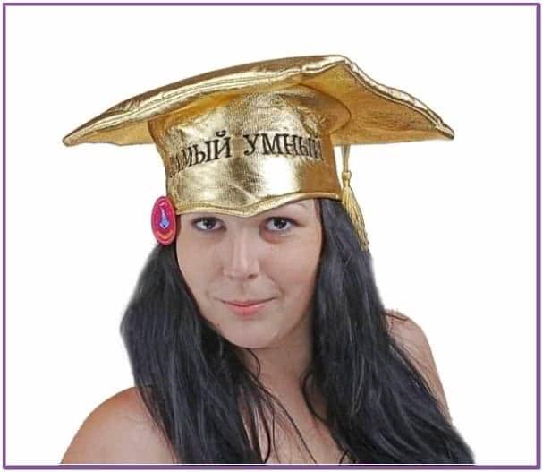 Золотая шляпа бакалавра