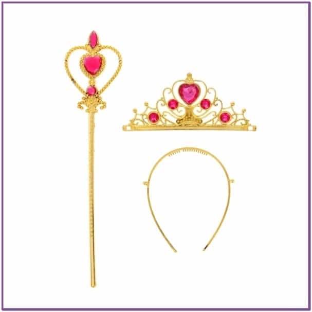 Золотистый набор принцессы